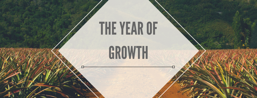 The Year of Growth.